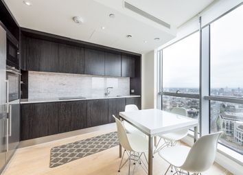 Thumbnail 1 bed flat to rent in Charrington Tower, New Providence Wharf