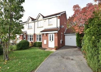 Thumbnail 3 bed semi-detached house for sale in Longbow Avenue, Methley, Leeds