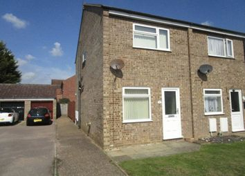 Thumbnail 2 bedroom end terrace house to rent in Zurich Close, Hopton, Great Yarmouth