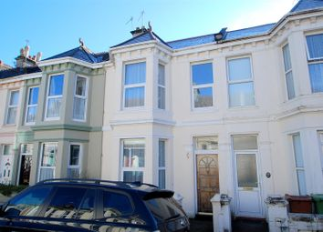 Thumbnail 3 bed terraced house to rent in Second Avenue, Stoke, Plymouth