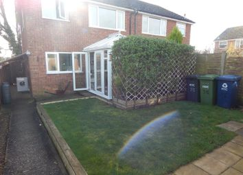 Thumbnail 3 bedroom semi-detached house for sale in Gordon Road, Little Paxton, St. Neots