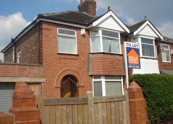 Thumbnail 3 bedroom semi-detached house to rent in Bamford Street, Manchester
