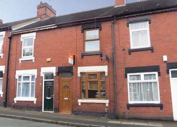 Thumbnail 2 bedroom terraced house for sale in Warrington Street, Fenton, Stoke-On-Trent