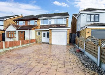 Thumbnail Semi-detached house for sale in Ozonia Avenue, Wickford, Essex