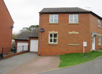 Thumbnail 3 bed detached house for sale in Woodyard Close, Castle Gresley, Swadlincote