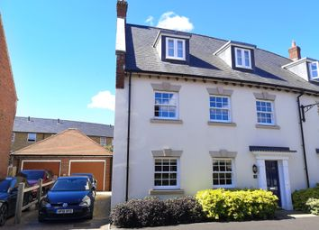 Thumbnail 4 bed semi-detached house for sale in New Cross Crescent, Brimsmore, Yeovil, Somerset