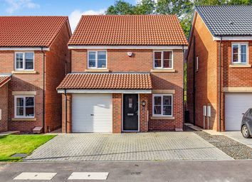 Thumbnail 4 bed detached house for sale in Greener Drive, Darlington
