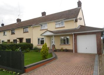 Thumbnail 3 bed end terrace house for sale in Lower Farm Road, Bromham, Bedford, Bedfordshire