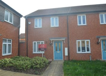Thumbnail 2 bed property to rent in Woodward Drive, Gunthorpe, Peterborough