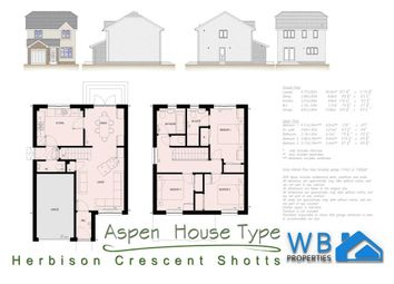 Thumbnail 3 bed detached house for sale in Reserved... Plot 104 Herbison Crescent, Shotts, Shotts