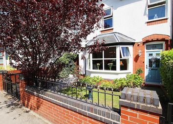 Thumbnail 4 bed semi-detached house for sale in Station Road North, Fearnhead, Warrington