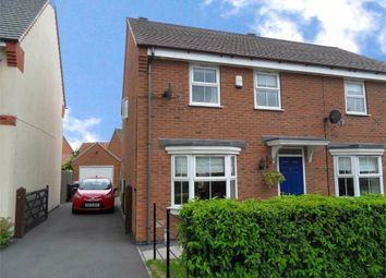 Thumbnail 3 bed semi-detached house to rent in Longstork Road, Coton Meadows, Rugby