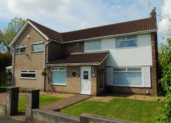 Thumbnail 5 bed detached house for sale in Sycamore Close, Llandough, Penarth