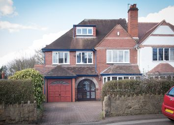 Thumbnail 5 bed semi-detached house for sale in Upper Clifton Road, Sutton Coldfield