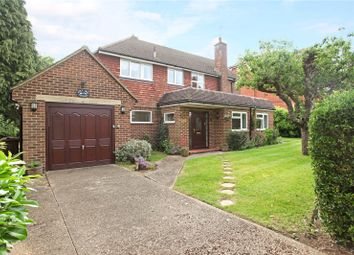 Thumbnail 4 bed detached house for sale in Cranley Road, Guildford, Surrey