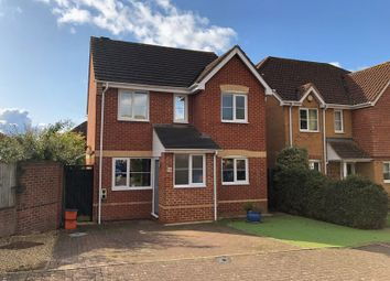 Thumbnail 3 bed detached house for sale in Tracy Close, Abbey Meads, Swindon
