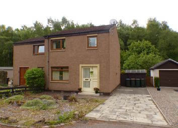 Thumbnail 3 bed semi-detached house for sale in Fingask Court, Scone