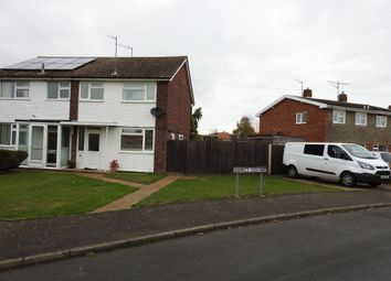 Thumbnail 3 bed semi-detached house for sale in Garrett Crescent, Leiston, Suffolk