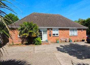 Thumbnail 4 bed detached bungalow for sale in Bannister Green, Felsted