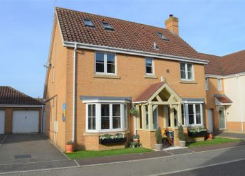 Thumbnail 4 bed detached house for sale in Moughton Court, West Winch, King's Lynn