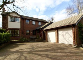 Thumbnail 4 bed detached house for sale in Bracken Court, Coedpoeth, Wrexham