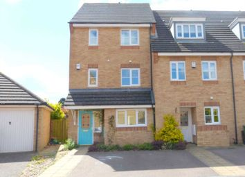 Thumbnail 4 bed town house for sale in Alconbury Close, Borehamwood