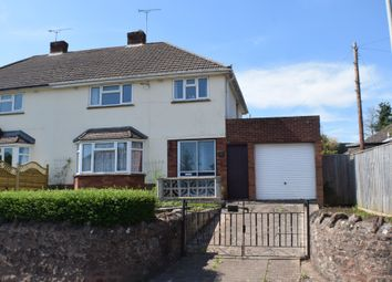 Thumbnail 3 bed semi-detached house for sale in Church Road, Wembdon, Bridgwater