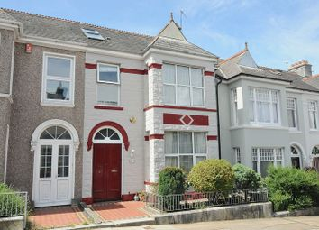 Thumbnail 4 bed terraced house for sale in Trelawney Road, Peverell, Plymouth