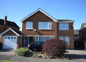 Thumbnail 4 bed detached house for sale in Field Rise, Littleover, Derby
