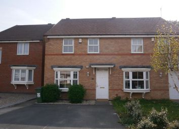 Thumbnail 3 bed semi-detached house to rent in Loughland Close, Blaby, Leicester
