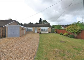 Thumbnail 3 bed detached bungalow for sale in Church Lane, Wicklewood