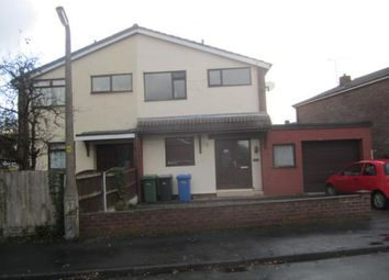 Thumbnail 3 bed semi-detached house to rent in Weymouth Road, Burtonwood, Warrington, Cheshire