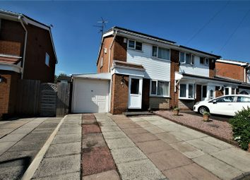 Thumbnail 3 bedroom semi-detached house for sale in Hereford Crescent, Little Lever, Bolton