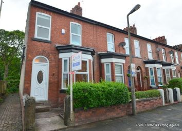 Thumbnail 3 bed terraced house to rent in Heywood Road, Sale