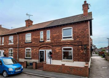 Thumbnail 2 bed end terrace house to rent in Recreation Road, Selby, North Yorkshire