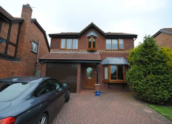 Thumbnail 4 bed detached house to rent in Linnet Close, Herons Reach, Blackpool