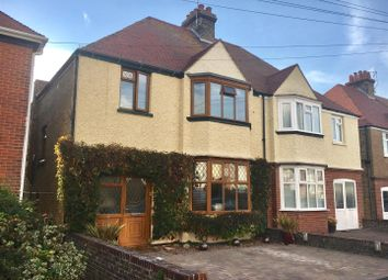 Thumbnail 3 bed semi-detached house for sale in Wellesley Road, Margate