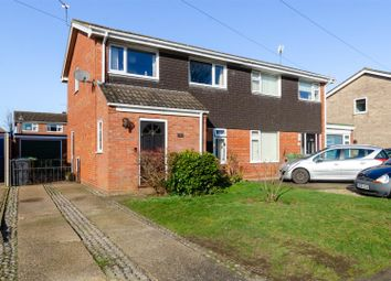 Thumbnail 3 bed semi-detached house for sale in Laburnum Close, Horsford, Norwich