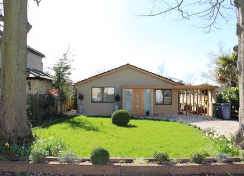 Thumbnail 3 bed detached bungalow for sale in Duxford Road, Whittlesford, Cambridge
