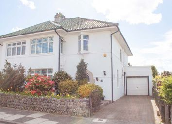 Thumbnail 4 bed semi-detached house for sale in Tor Road, Hartley, Plymouth