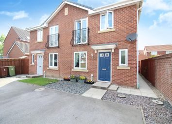 Thumbnail 3 bed semi-detached house for sale in Sandpiper Court, Castleford