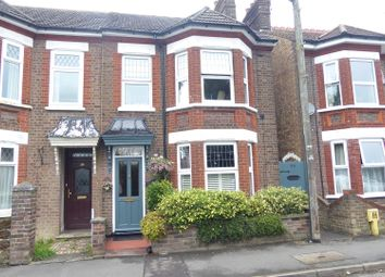 Thumbnail 3 bedroom semi-detached house for sale in West Parade, Dunstable