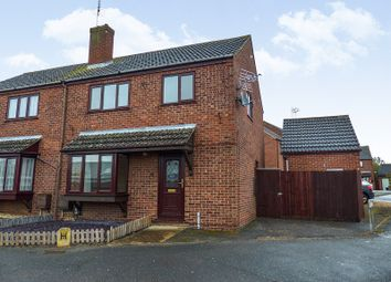 Thumbnail 3 bed semi-detached house for sale in Lansdowne Road, Yaxley, Peterborough, Cambridgeshire.