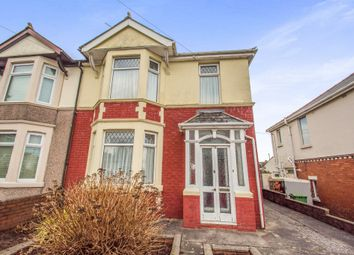 Thumbnail 3 bed semi-detached house for sale in The Walk, Rumney, Cardiff