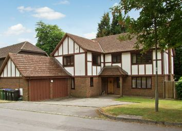 Thumbnail 5 bed detached house to rent in Rosewood, Woking