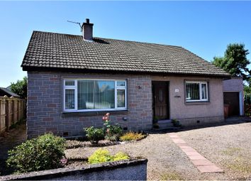 Thumbnail 3 bed detached bungalow for sale in Pinewood Road, Fochabers