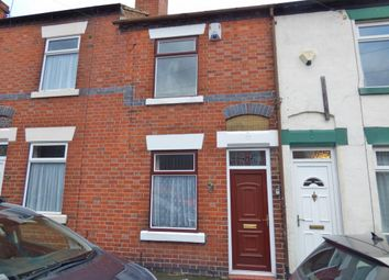 Thumbnail 2 bed terraced house for sale in Peel Street, Wolstanton, Newcastle