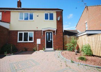 3 bed terraced house for sale in Parkside Gardens, Widdrington, Morpeth NE61