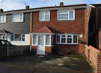 Thumbnail 3 bedroom end terrace house for sale in Udall Gardens, Collier Row, Romford