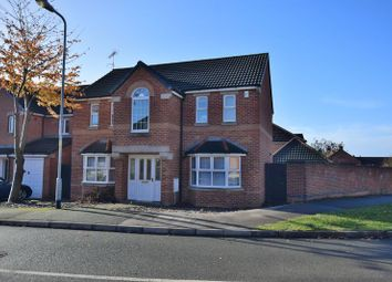Thumbnail 4 bed detached house for sale in Carram Way, St George's Park, Lincoln